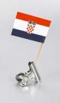 zastavica na čačkalici - hrvatska