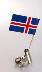 zastavica na čačkalici - island