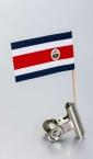 zastavica na čačkalici - kostarika