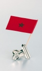 zastavica na čačkalici - maroko