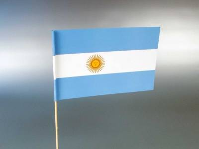 Papirne zastavice - Argentina
