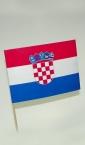 zastavice od papira, Hrvatska