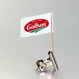 promo zastavica na čačkalici - Galbani (Somboled)