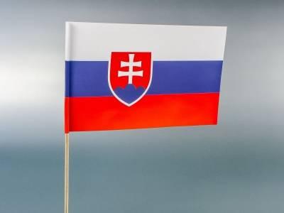 zastavice od papira - Slovačka