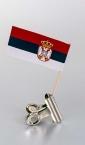 zastavica na čačkalici - srbija