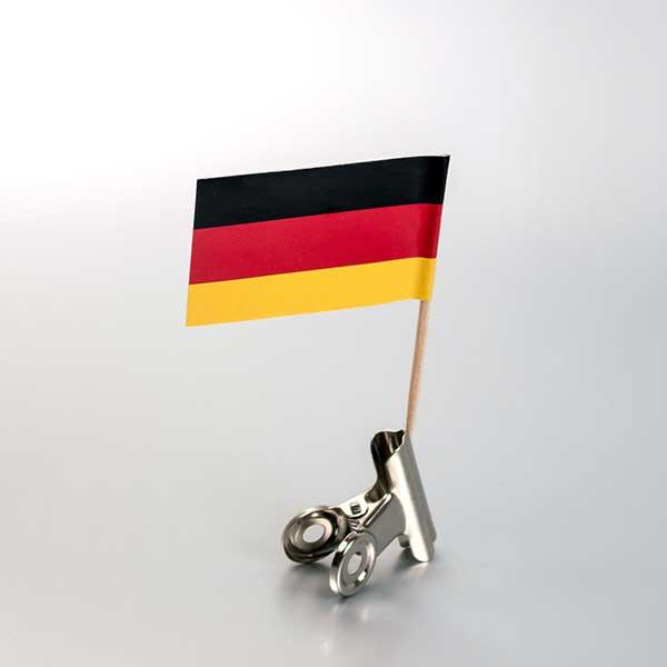 zastavica na čačkalici - nemačka