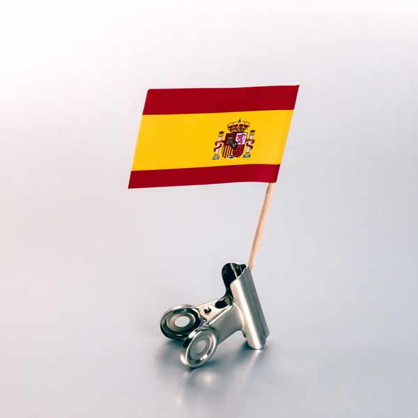zastavica na čačkalici - spanija
