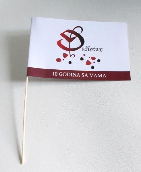 zastavice od papira - Đulistan