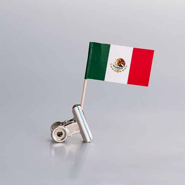 Zastavice na čačkalicama / Meksiko
