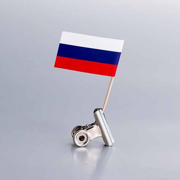 Zastavice na čačkalicama / Rusija