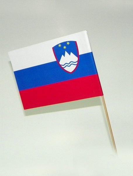 Papirne zastavice, Slovenija