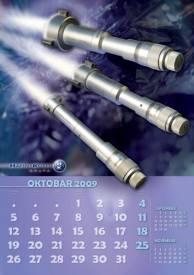 Zidni kalendari Hahn+ Kolb 12