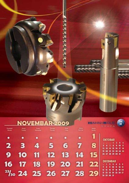Zidni kalendari Hahn+ Kolb 04