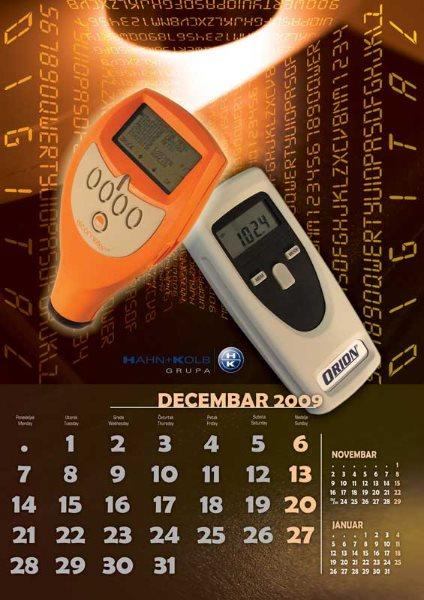 Zidni kalendari Hahn+ Kolb 11