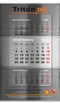 "štancovani zidni kalendar ""burence"" triton-oil"