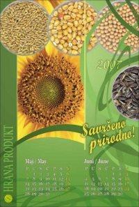 Zidni kalendari plakati - Hrana Produkt 2007