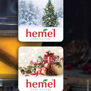 """Idejno rešenje kaširanih podmetača za čaše """"Hemel"""""""
