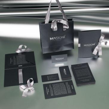 Luksuzne kese, folderi i kartice za zlataru Magioni