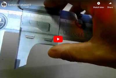 karonski (magnetni) šubler - pozivnica