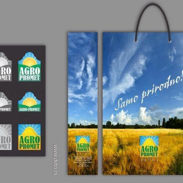 """Novi logo, kese, i drugi promo materijal za """"Agro-promet"""""""