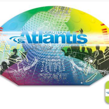 "Lepeze za diskoteku ""Atlantis"", Härkingen (CH)"