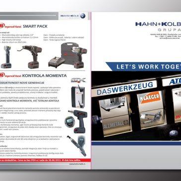 Hahn+Kolb – Prospekt sa alatima i mašinama,  na akciji u junu…
