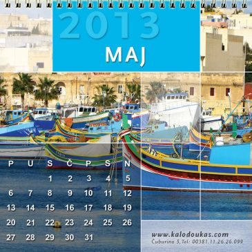 Stoni kalendari za agenciju Kalodoukas