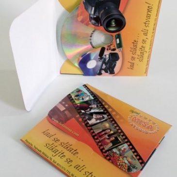"Omot za CD – Fotografska radnja ""Foto Miša"", Paraćin"