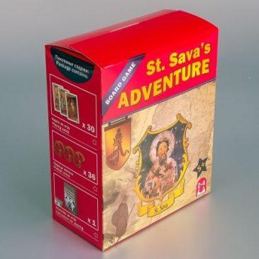 """Društvena igra """"St. Sava's Adventure"""""""