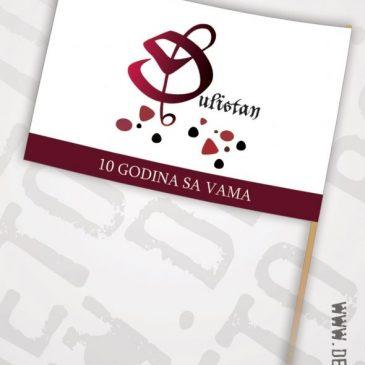 """Idejno rešenje zastavice za hor """"Đulistan"""", Novi Pazar"""