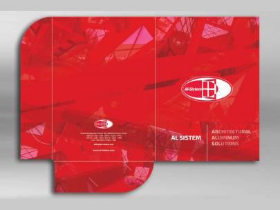 Dizajn - reklamna fascikla / Al Sistem