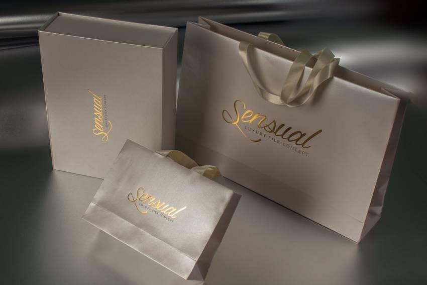 Sensual kese i kutije sa zlatotiskom