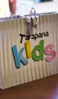 Tarapana Kids / Luksuzna kesa sa ručkama od satenske trake i ukrasnom mašnom iz poruba