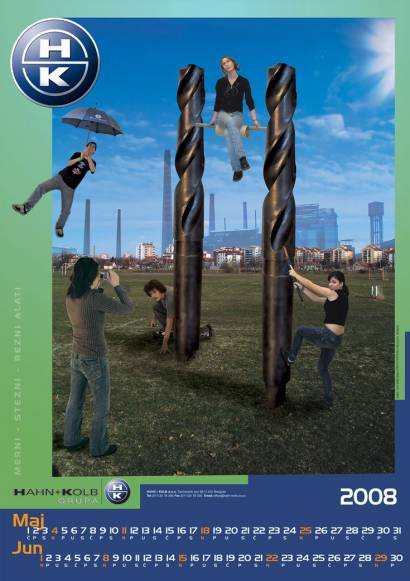 Hahn & Kolb kalendar za 2008. / Maj