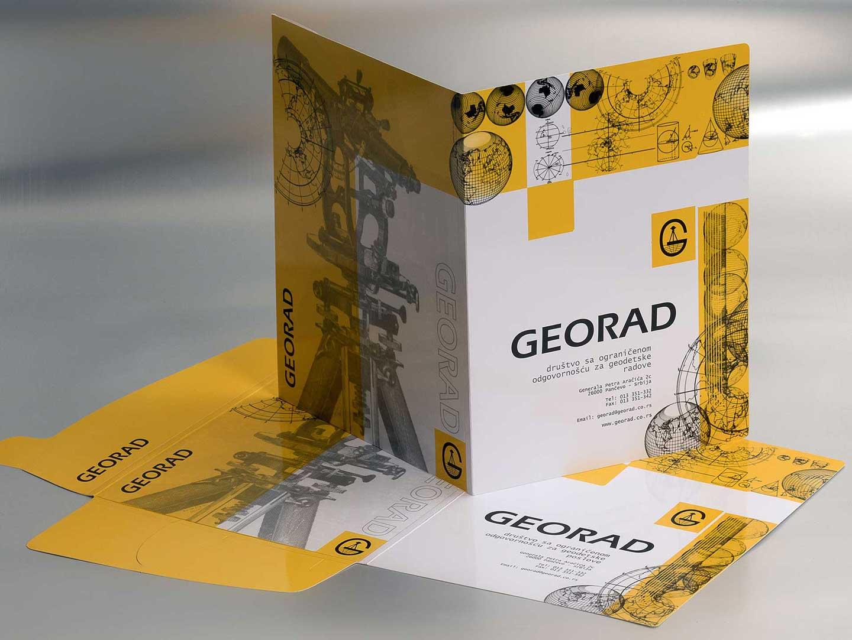 """Dizajn fascikle """"Georad"""""""