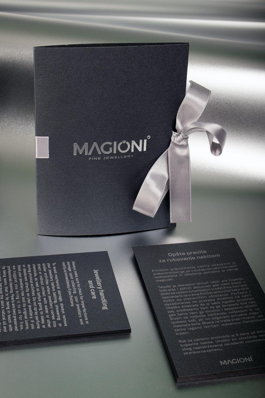 specijalni  folderi i kartice za zlataru Magioni