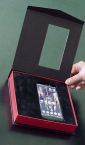 "Luksuzne kutija za maske (za telefon) ""Qony"" (sa zlatotiskom)"