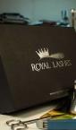 Velike kaširane kutije sa poklopcem (nesklopive) / Royal Lashes