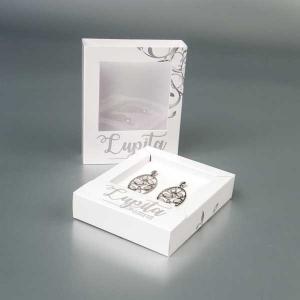 Kutija za srebrni nakit sa prozorom -Lupita (Crna Gora)