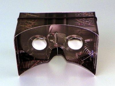 VR cardboard (virtual reality - kartonske naočare/ adapter za smartphone)