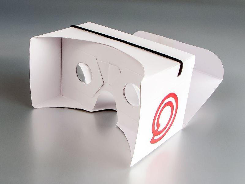 """Madnet"" VR cardboard (virtual reality - kartonske naočare/ adapter za smartphone)"