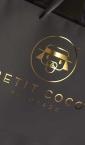 """XXL Kesa """"Peteit Coco"""" - zlatotisak"""