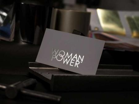 zlatotisak - vizit karte - Woman Power