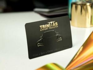 zlatotisak + uv + ofset - vizitkarte - Trinitas (Beč, Wiena)