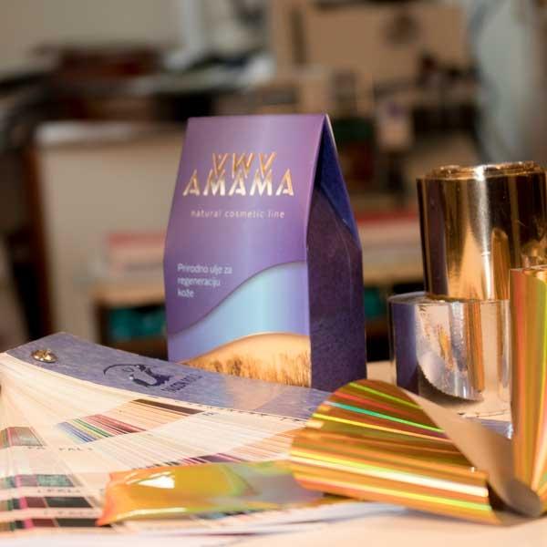 zlatotisak- ambalaza - Amama (BIH)